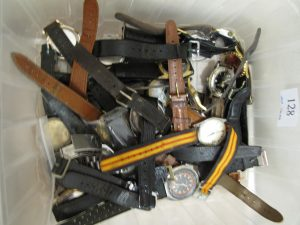 Lot 128 - Collection of watches - Sold for £35
