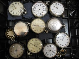 Lot 130 - Collection of pocket watches - Sold for £160