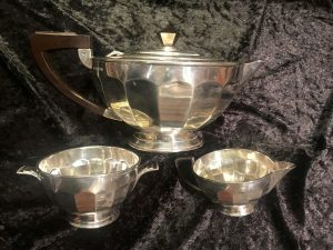 Mappin and Webb silver tea set
