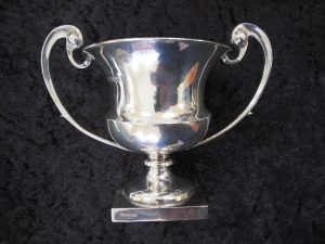 Lot 145 - Small Silver Vase - Sold for £100