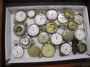 Lot 222 - Collection of Twenty One Pocket Watches - Sold for £110