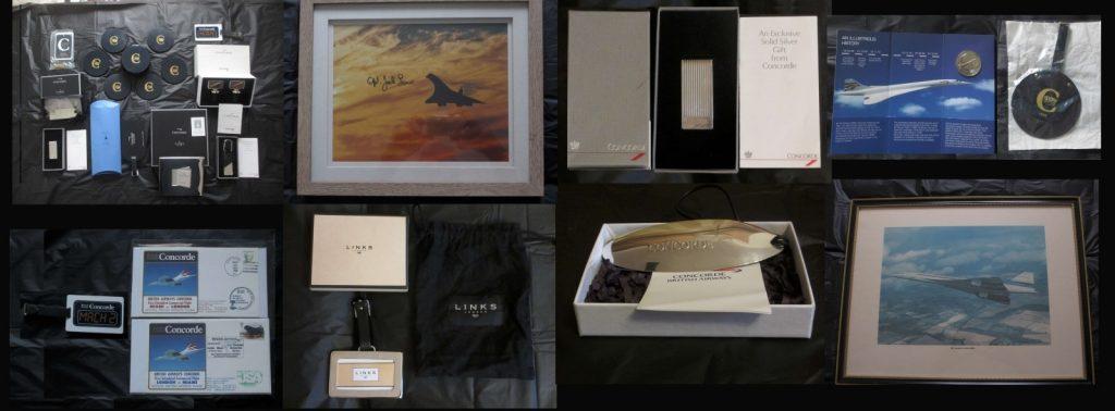 Collection of Concorde Memorabilia