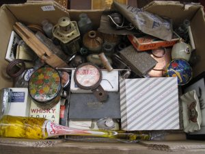 Lot 110 - Box of over 50 small collectables - Sold for £22