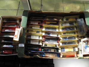 Lot 116 - 40 Boxed vintage model cars etc - Sold for £30