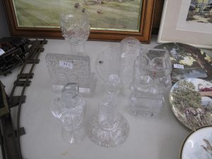 Lot 31 - Collection of White Friars glass and others - Sold for £30