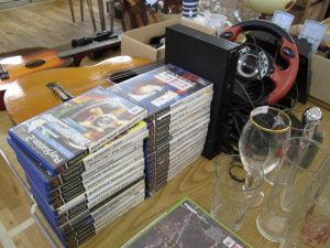 Lot 238 - PS bundle with 31 games - Sold for £40