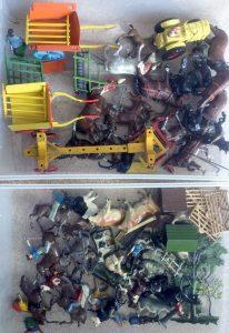 Britains Farm animals and equipment