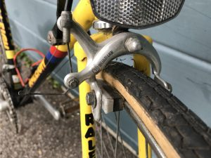 Raleigh Banana Bike - Weinmann brakes