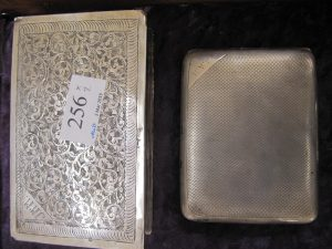 Lot 256 - Silver boxes - Sold for £35