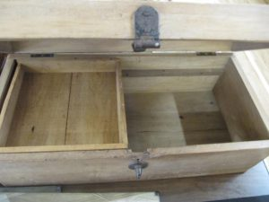 Lot 350 - Wooden Tool Box - Sold for £22