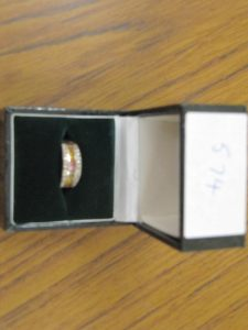 Lot 574 - Diamond Signet Ring - Sold for £25