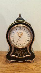 CYMA Boudoir Clock