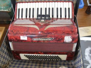 Lot 290 - Worldmaster Accordion in case - Sold for £40