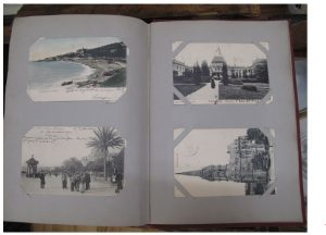 Lot 1 - Postcard Album circa 1900 inc foreign - Sold for £42