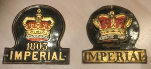 1840 and 1880 Imperial Fire Marks