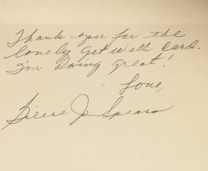 Letter from Billie Jo Spears