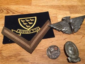 Military and other badges