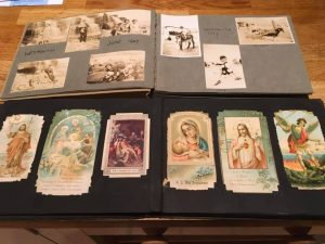Religious Cards and Holiday Photos in Albums