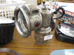 Lot 159 - P & H Revenge Carbide Lamp c 1928 - Sold for £35