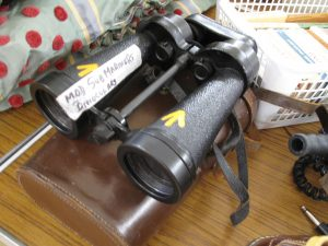 Lot 160 - Submariners binoculars c1942 - Sold for £35