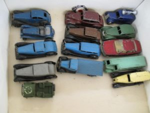 Lot 277 - Collection of Early Post War Dinky Toys - Sold for £170