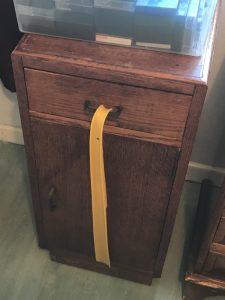Oak Beside Cabinet