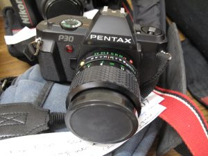 Lot 207 - Pentax P30 SLR Camera with 70mm Lens - Sold for £30