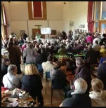 Full auction at Itchen Abbas